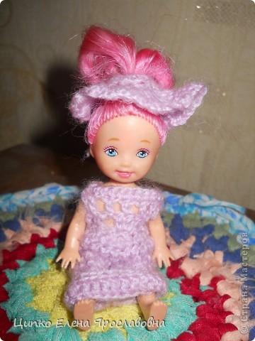 Первая одёжка для куклы. фото 1