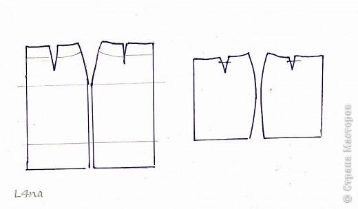 Летний комплект, блузка с юбкой... часть 1. юбка фото 7