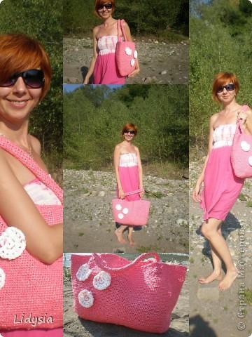 Вот такое розовое чудо сплелось ))))) фото 6