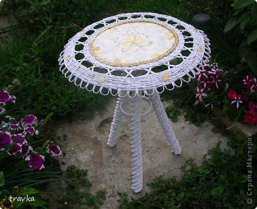 Садовый чайный столик. фото 1