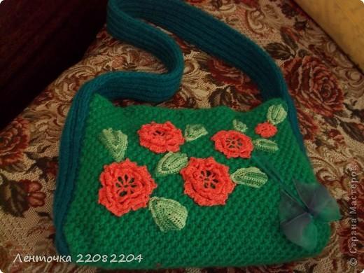 Вот такая летняя сумка получилась у меня! фото 2