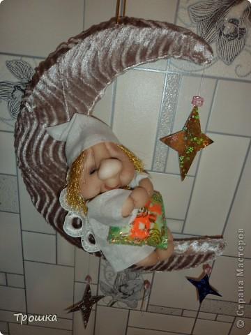 По просьбе Дочки переместила Сплюшика на Месяц... фото 1