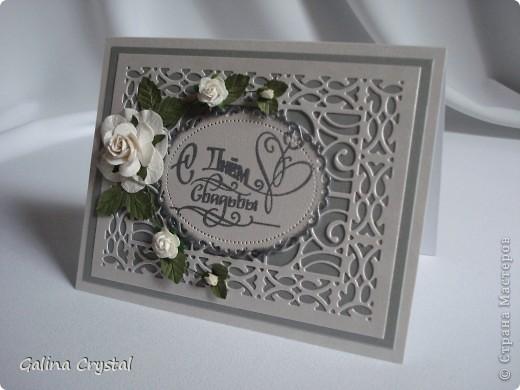 Дизайнерская бумага, вырубка, тиснение, цветы, атласные ленты.... фото 3