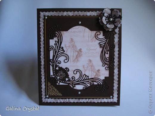 Дизайнерская бумага, вырубка, тиснение, цветы, атласные ленты.... фото 10