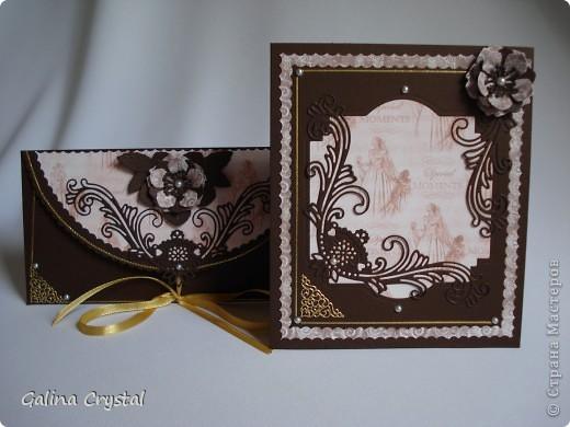 Дизайнерская бумага, вырубка, тиснение, цветы, атласные ленты.... фото 11
