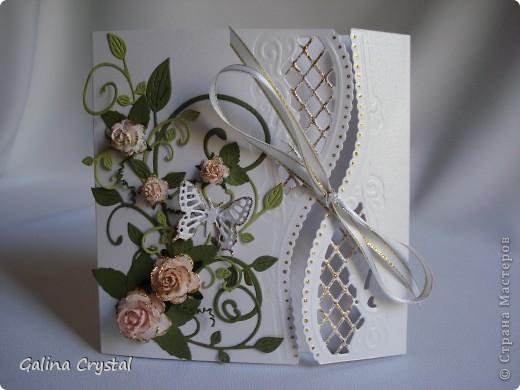 Дизайнерская бумага, вырубка, тиснение, цветы, атласные ленты.... фото 1