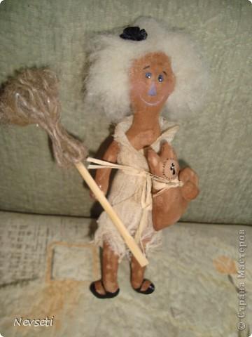 Такую ведьмочку шила в подарок. фото 4