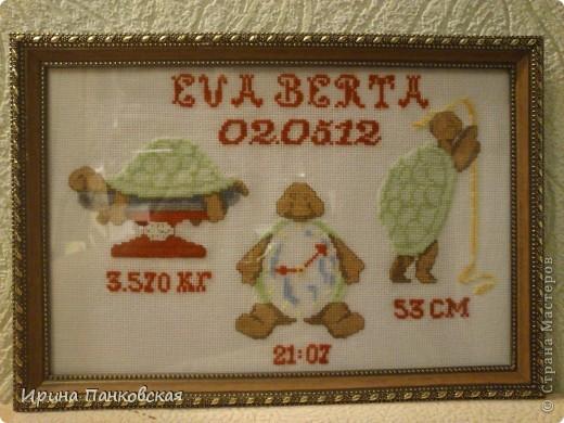 Подарок новорождённой!Уж очень мне понравились эти чудные черепашки)))))) фото 2