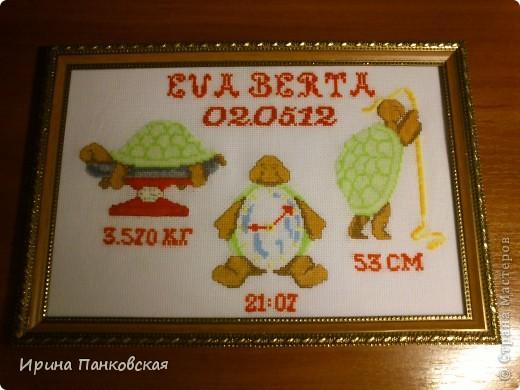 Подарок новорождённой!Уж очень мне понравились эти чудные черепашки)))))) фото 1