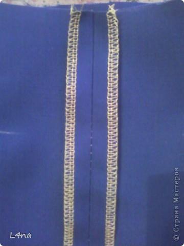 Летний комплект, блузка с юбкой... часть 1. юбка фото 21