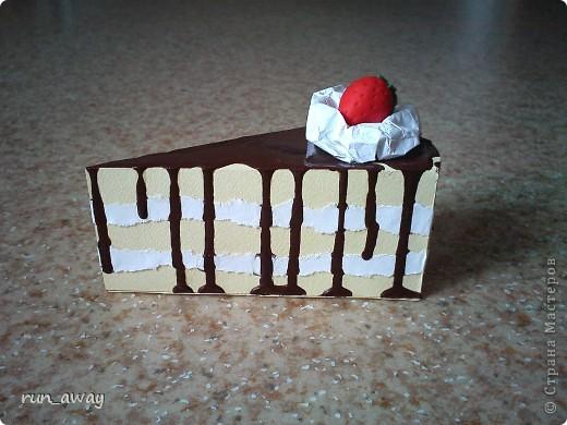 вот такой вот тортик у меня получился=) правда не знаю что и кому дарить, просто очень уж хотелось сделать его=))) фото 1