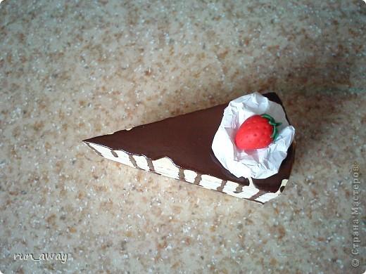 вот такой вот тортик у меня получился=) правда не знаю что и кому дарить, просто очень уж хотелось сделать его=))) фото 4