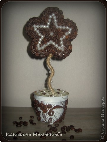 Налюбовавшись работами Виктории Сокур http://stranamasterov.ru/node/326234 , сделала вот такое дерево=))  Даже не знаю, как его назвать) фото 2