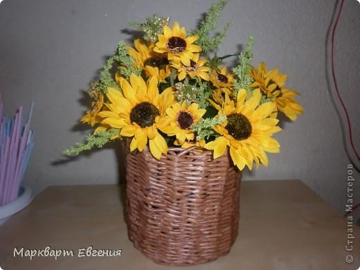 Плетеночки для цветов фото 1