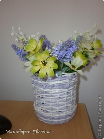 Плетеночки для цветов фото 2