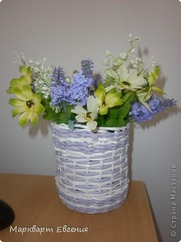 Плетеночки для цветов фото 3