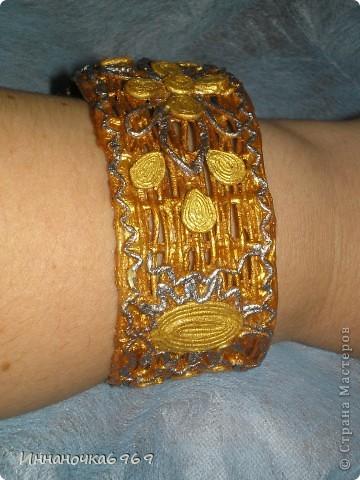 Увидела браслет Татьяны Сорокиной и... вот что получилось.... фото 3