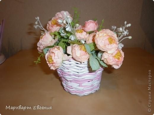 Плетеночки для цветов фото 4