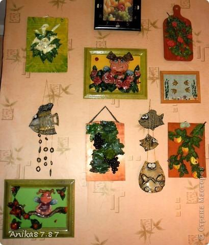 Моя стена лепиксов. Феечки слепила в сад дочке. Это они временно поселились тут, а в понедельник перезжают на ПМЖ в детский сад. фото 1