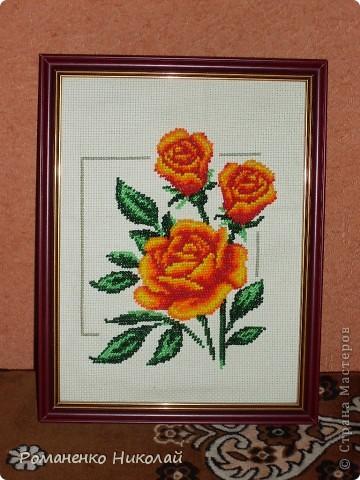 ...день День матери День рождения День семьи Бисероплетение Вышивка Садовые розы из бисера Бисер Канва.