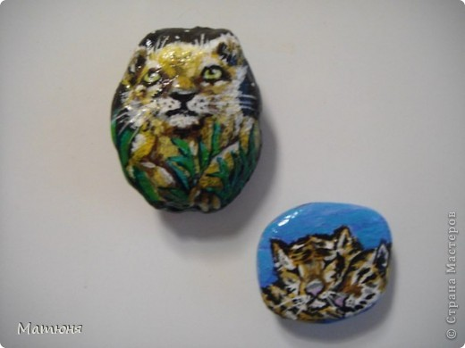 Четласский мишка - миниатюра на камне (сланец, размер 12х9 см) фото 12