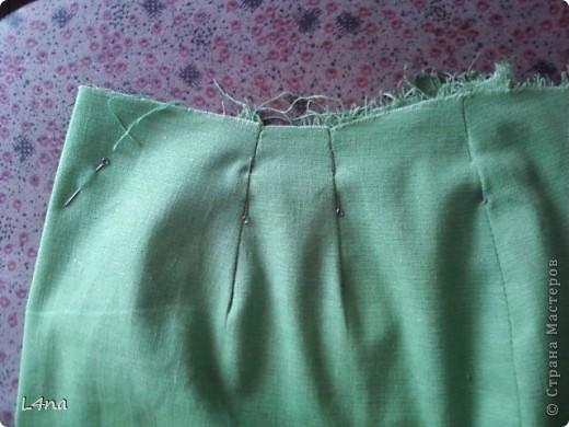 Летний комплект, блузка с юбкой... часть 1. юбка фото 37
