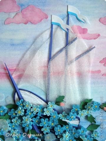 """Девочки! Сегодня я доделала очень символичную для нашей семьи  работу""""Мечты сбываются"""" или """"Два горошка на ложку"""". В работу Га_ли_ны """"Голубые мечты"""" http://stranamasterov.ru/node/382615?c=favorite  я влюбилась с первого взгляда и решила сделать аналогичную. фото 2"""