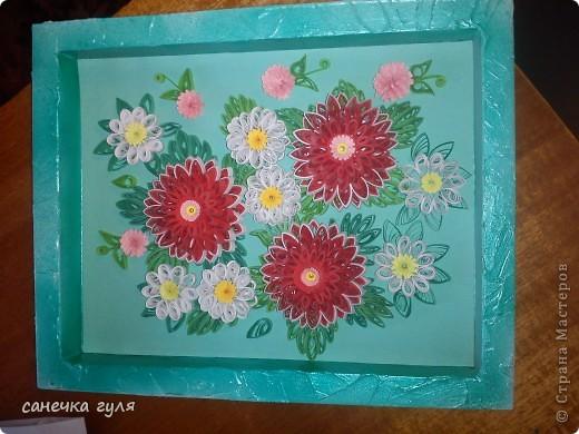 Мои бумажные цветочки. фото 1