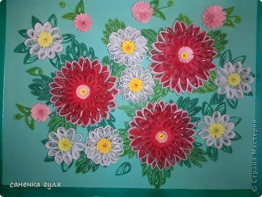 Мои бумажные цветочки. фото 2