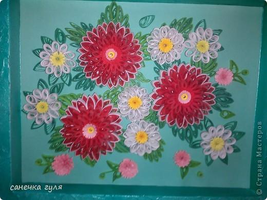 Мои бумажные цветочки. фото 3