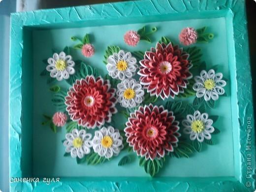 Мои бумажные цветочки. фото 4