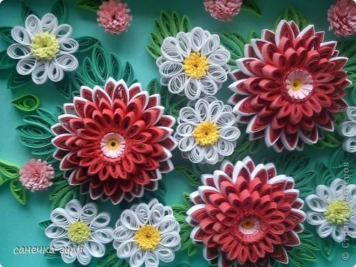 Мои бумажные цветочки. фото 5