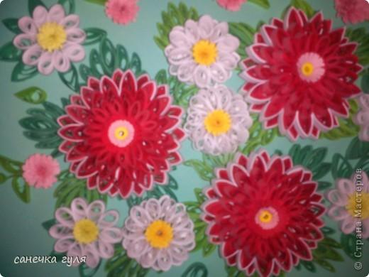 Мои бумажные цветочки. фото 6