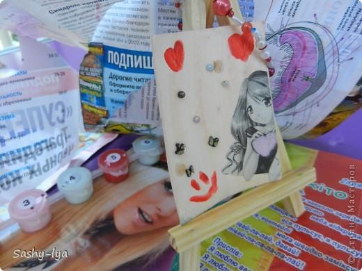 """Мы с моей подругой Настей(Nasty-sa)решили продолжить так сказать пополнить коллекцию карточек АТСпод названием """"Дружба"""". Это №1 фото 1"""