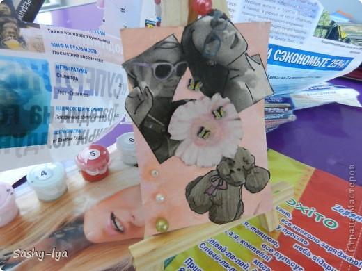 """Мы с моей подругой Настей(Nasty-sa)решили продолжить так сказать пополнить коллекцию карточек АТСпод названием """"Дружба"""". Это №1 фото 3"""