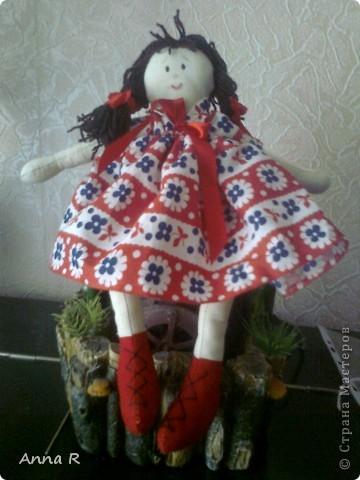 Моя первая куколка  Маша фото 1