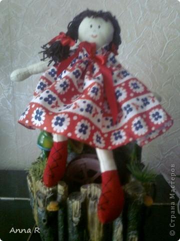 Моя первая куколка  Маша фото 2