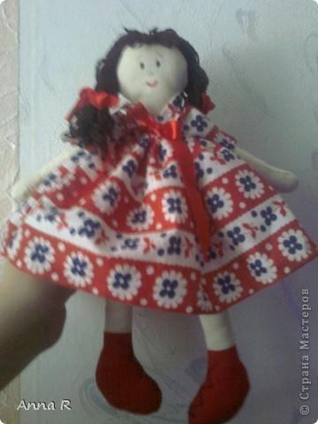 Моя первая куколка  Маша фото 3