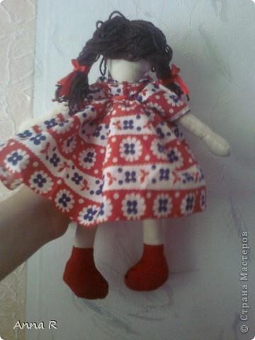 Моя первая куколка  Маша фото 4
