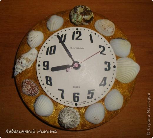 Часы из старой сковородки 60