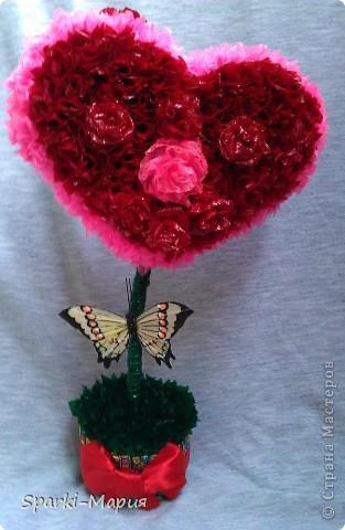 Чудо сердешное))) отправится к моей любимой подружайке на новое место жительство))) запоздалый подарок на ДР фото 1