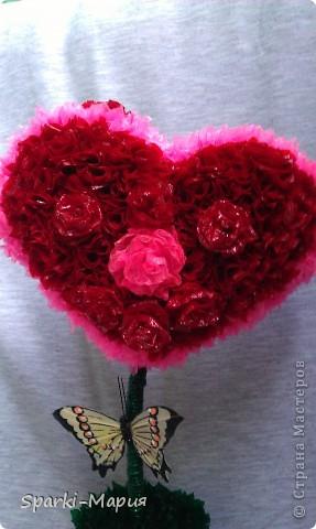 Чудо сердешное))) отправится к моей любимой подружайке на новое место жительство))) запоздалый подарок на ДР фото 2