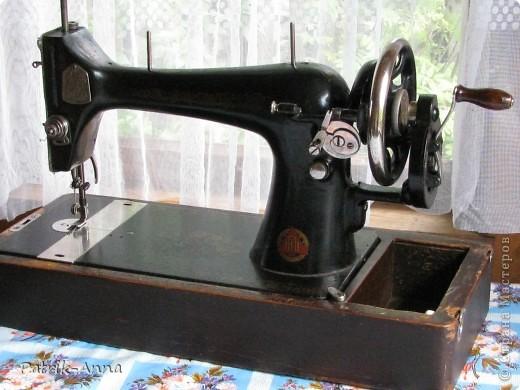 Чехол для старой швейной машинки фото 2
