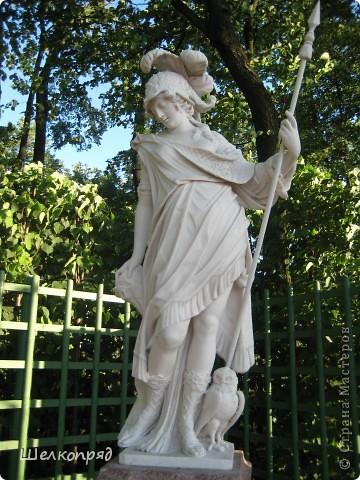 Одно из чудеснейших мест в Санкт-Петербурге - Летний сад, в котором находится Летний дворец Петра Первого. фото 23