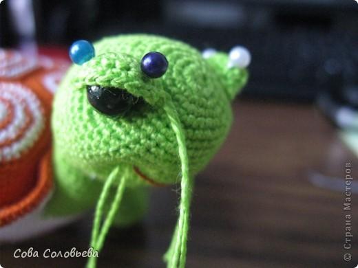 Игрушка Мастер-класс Поделка изделие Вязание крючком изготовление Черепашки фото 31