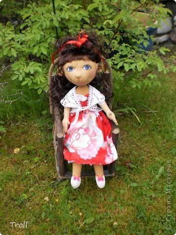 """Текстилные куклы-так сказат """"первая проба пера"""" фото 36"""