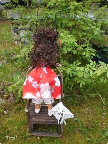 """Текстилные куклы-так сказат """"первая проба пера"""" фото 40"""