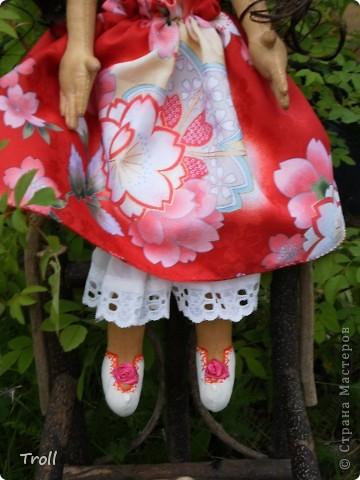 """Текстилные куклы-так сказат """"первая проба пера"""" фото 42"""