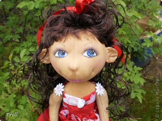 """Текстилные куклы-так сказат """"первая проба пера"""" фото 43"""