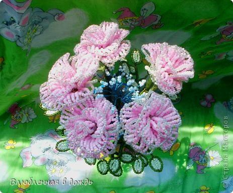 Букет был создан по этому МК: http://marrietta.ru/post192414540/ Спасибо огромное автору этого подробного мастер-класса!!! фото 1